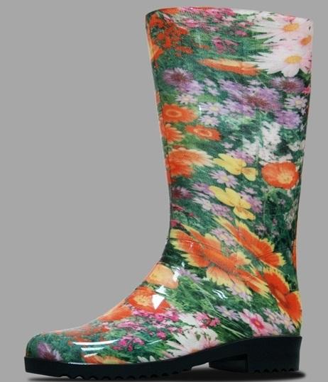 Обувь садовая