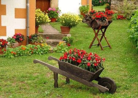 Підставка кантрі для квітів